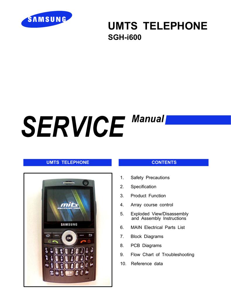 samsung i600 user guide manualzz com rh manualzz com Samsung I700 Samsung L600
