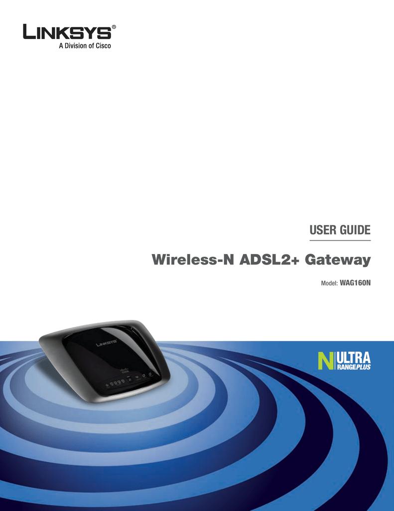 Cisco Linksys WAG160N User guide | manualzz com