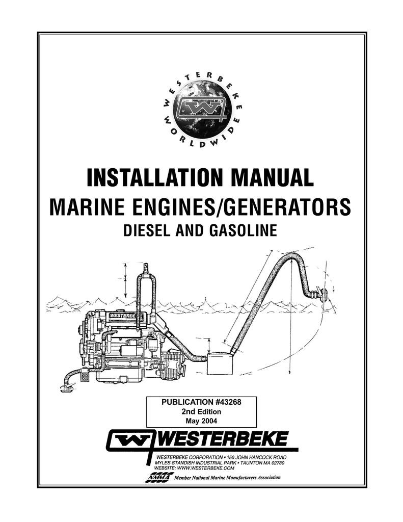 Westerbeke 21A Installation manual | manualzz.com on