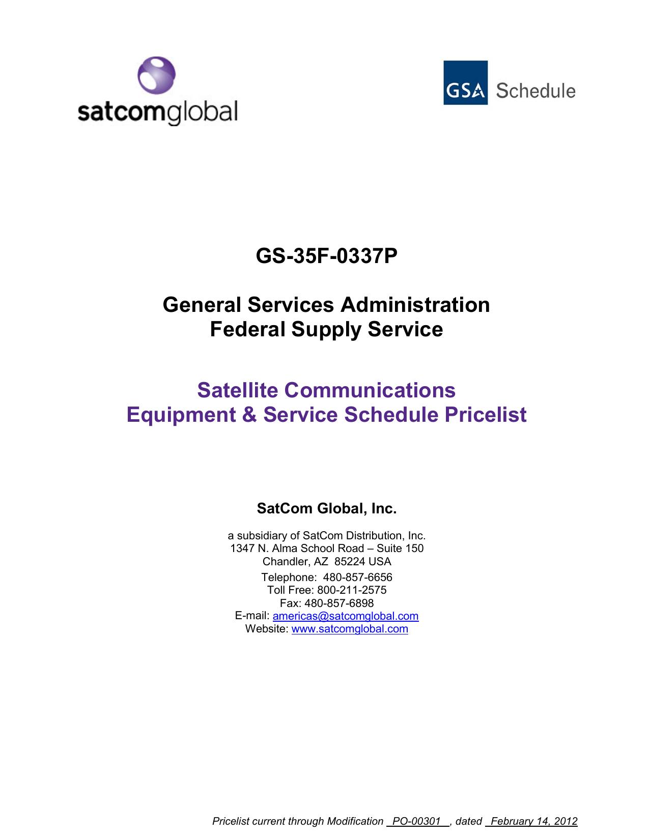 GSA Pricing Schedule Comments/Questions | manualzz com