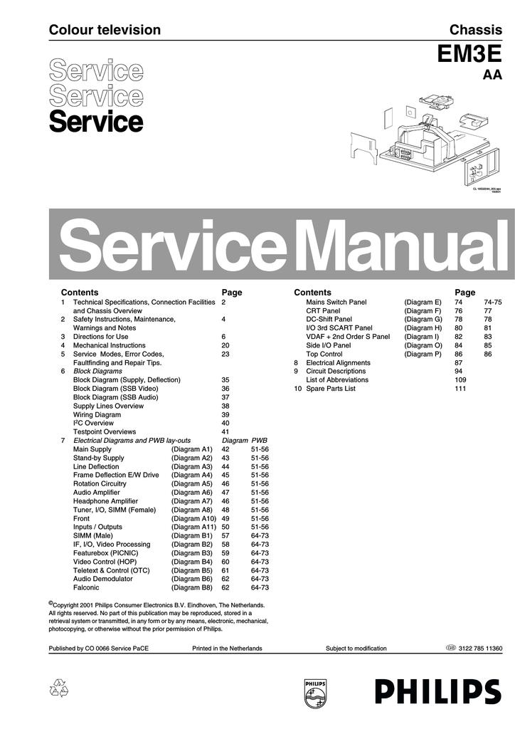philips 32pw9576 12r specifications manualzz com rh manualzz com