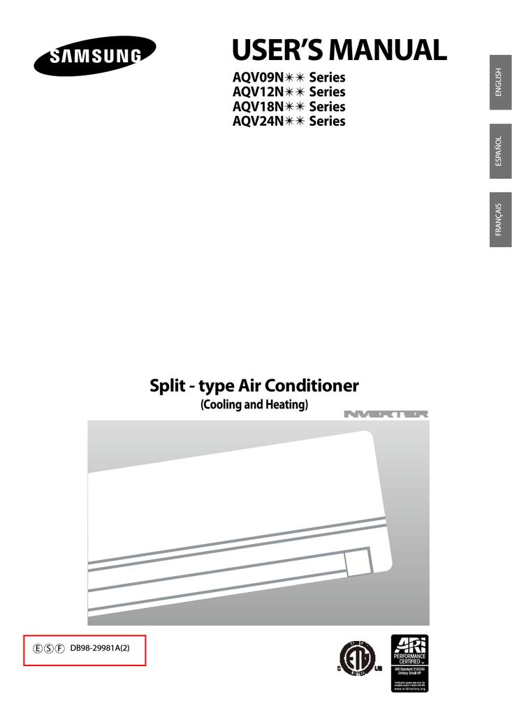 samsung aqv18nsd user s manual manualzz com rh manualzz com Samsung Boot to Bios Samsung Series 7 Bios Access