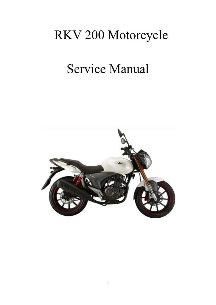 zhejiang qianjiang motorcycle rkv 200 service manual   manualzz qianjiang scooter wiring diagram buggy gy6 150cc wiring diagram manualzz