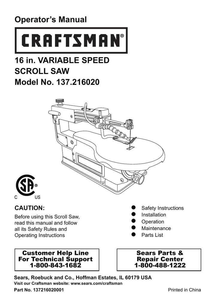 Craftsman 113207600 operators manual manualzz greentooth Image collections