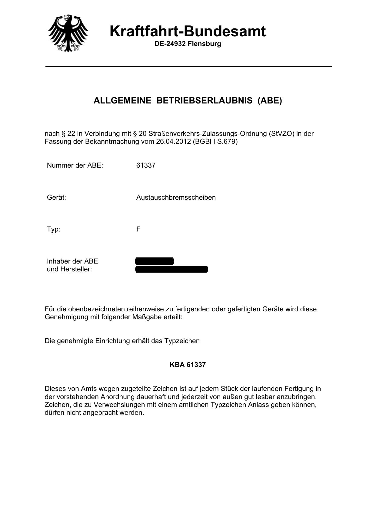 Kraftfahrt Bundesamt Manualzz