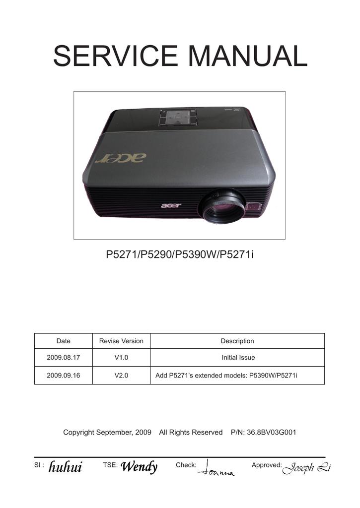 acer pd120d manual