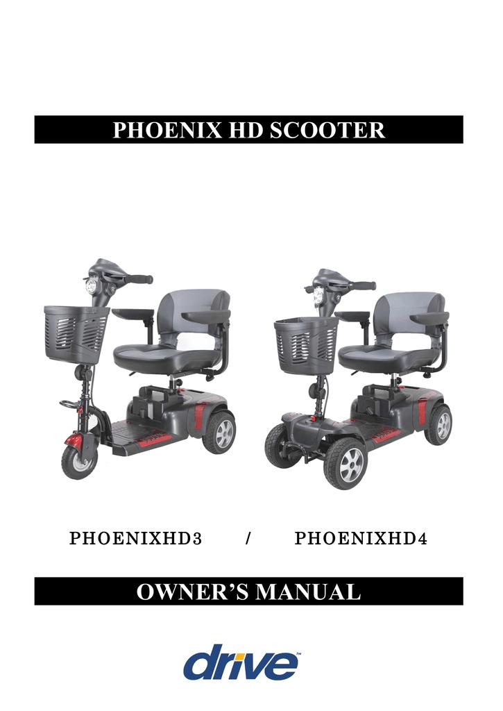 Drive Medical PHOENIXHD4 Owner`s manual | manualzz com