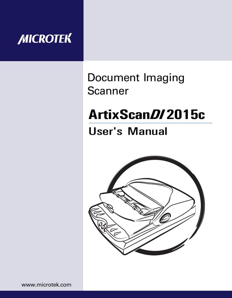 Microtek ADF DI2015c Scanner XP