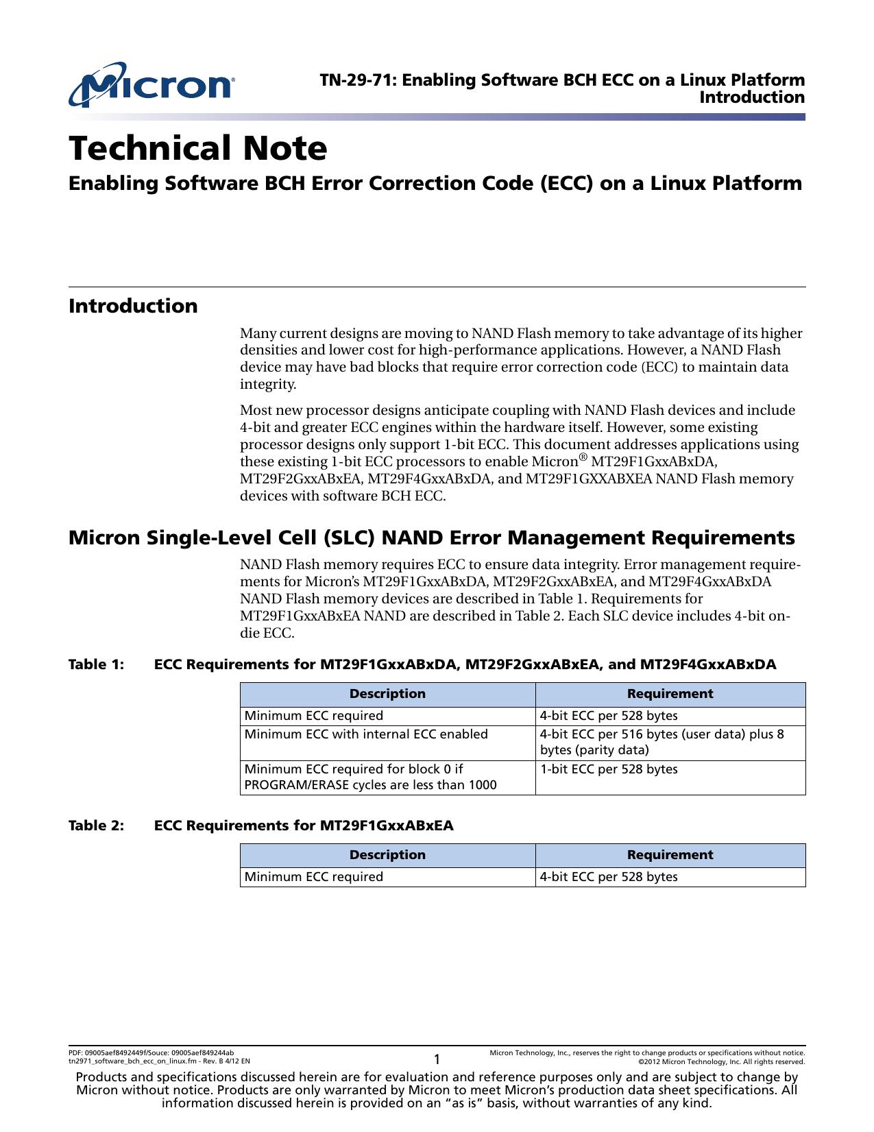 ECC) on a Linux Platform   manualzz com