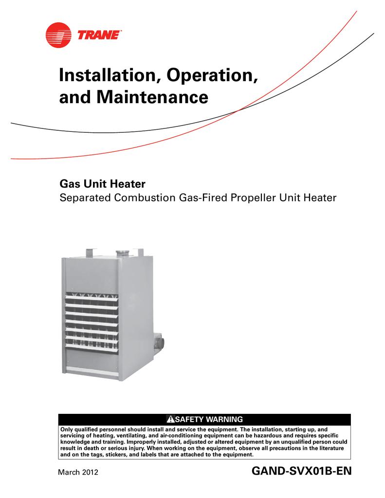 Trane Mua Unit Wiring Diagram Just Another Data Bwd Heat Pump Schematic Aeg Cga 60 Wok Specifications Manualzz Com