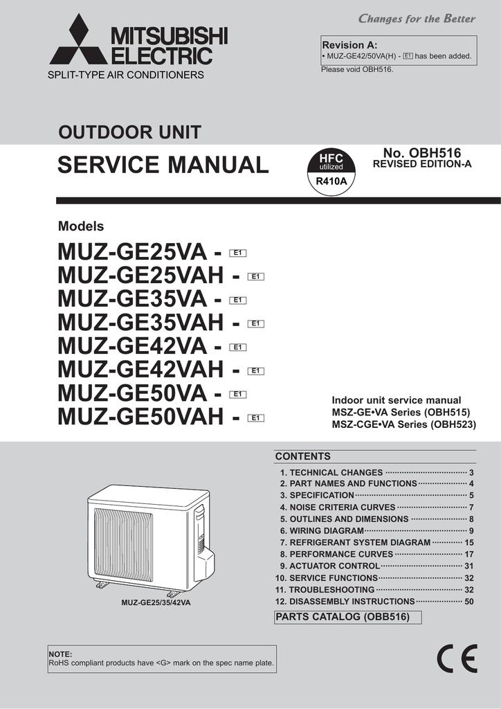 Amazing Manual Mitsubishi Msz Ge35Va Ebook Wiring 101 Akebretraxxcnl