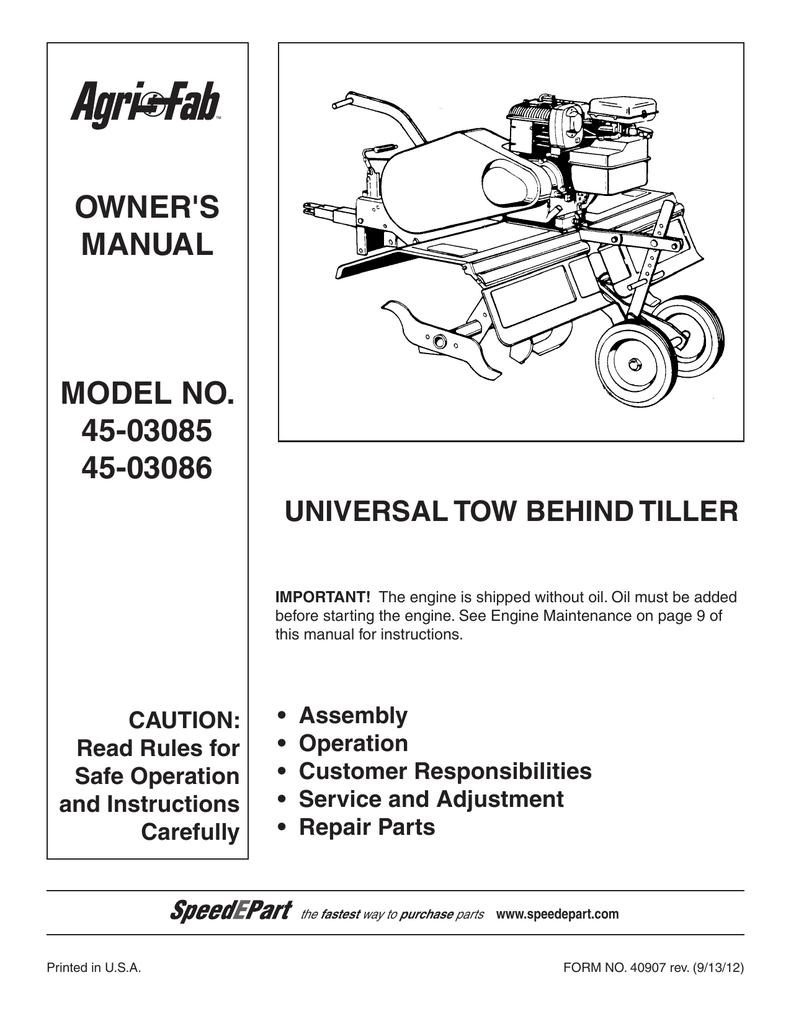 Agri-fab 45-03086 manuals.