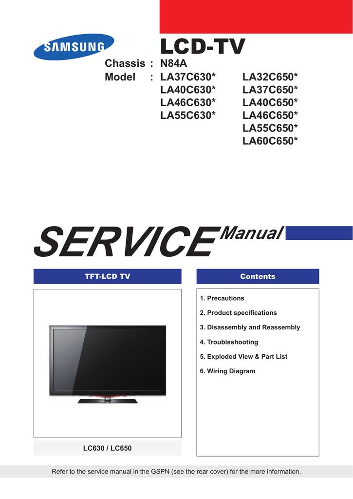 samsung series 4 tv manual