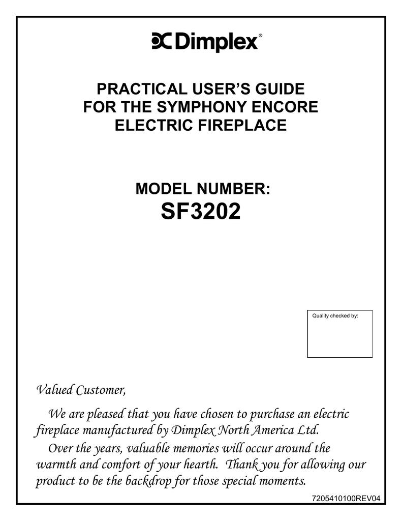 Dimplex Sf3202 User S Guide Manualzz Com