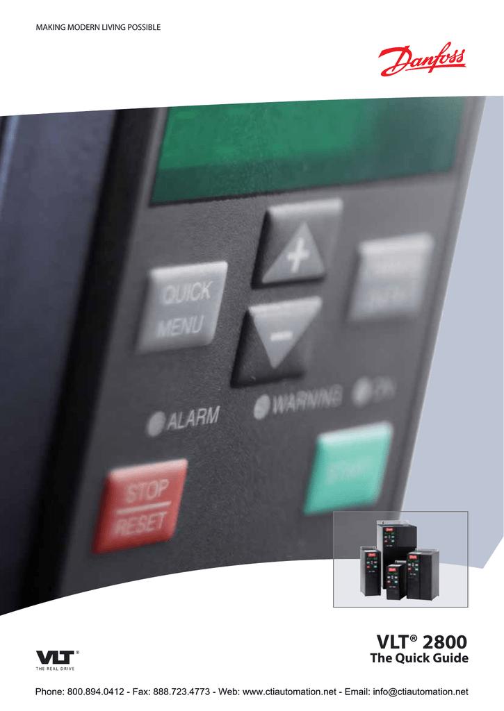 Danfoss vlt 2800 1. 5kw vlt 2815 inverter drive bangladesh.