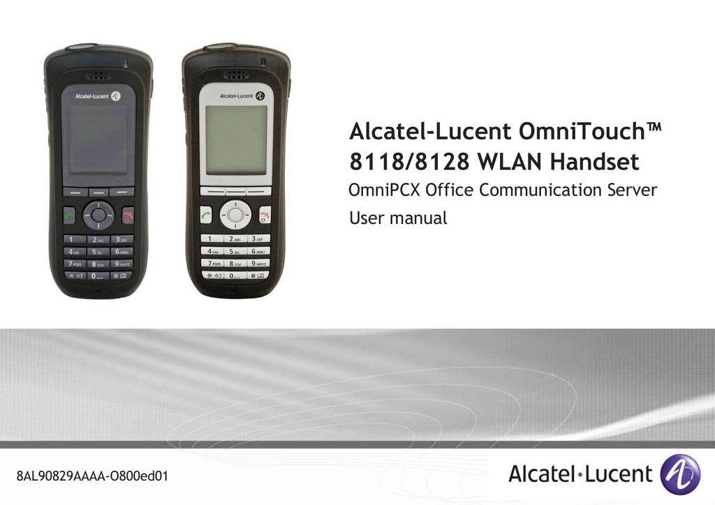 Alcatel OmniTouch User manual | manualzz com