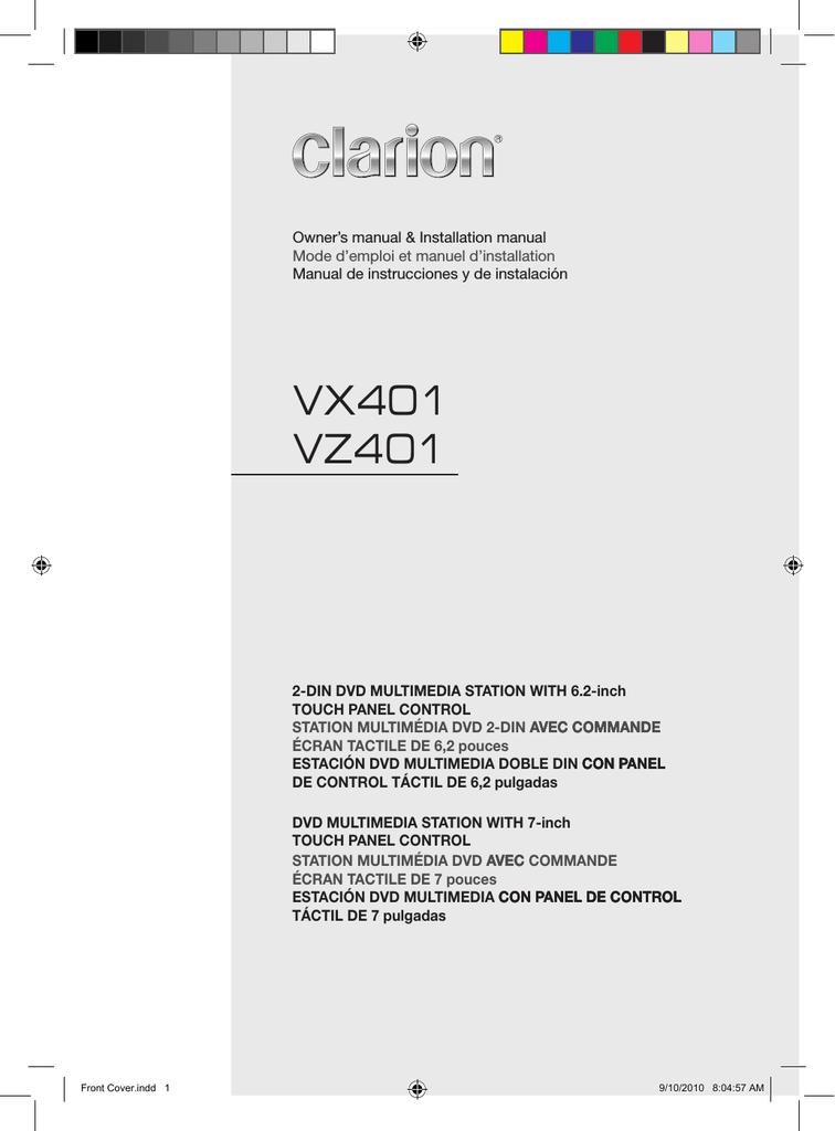 clarion vx401 owner`s manual | manualzz  manualzz