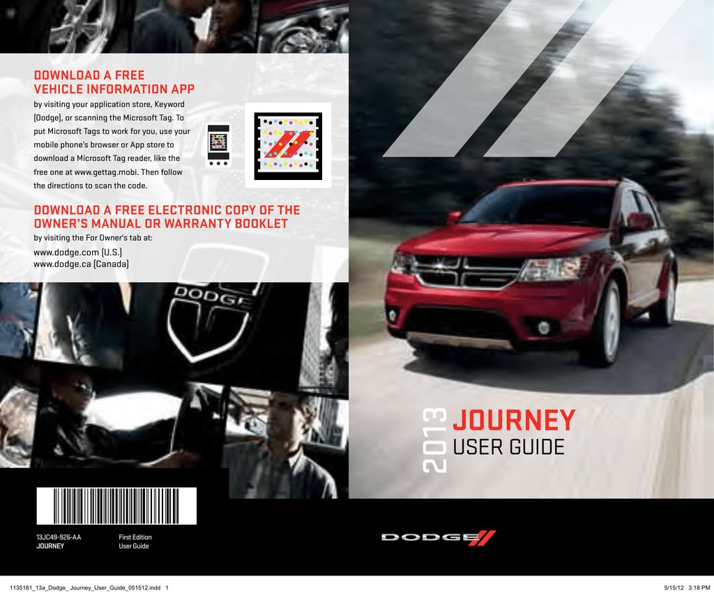 2013 dodge journey manual