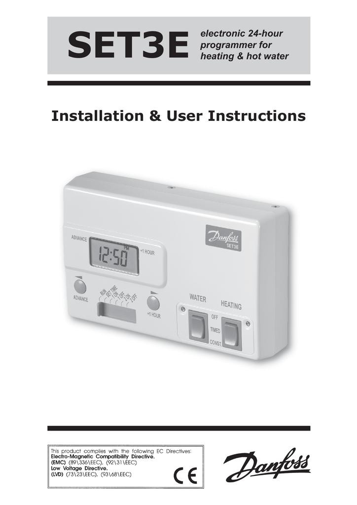 set3e install and user instructions manualzz com rh manualzz com