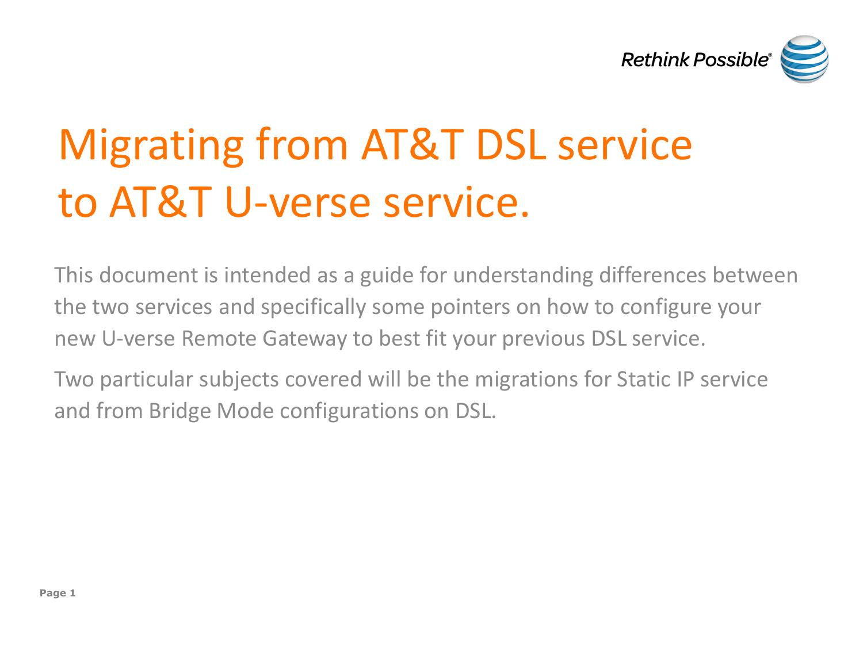 AT&T U-verse | manualzz com