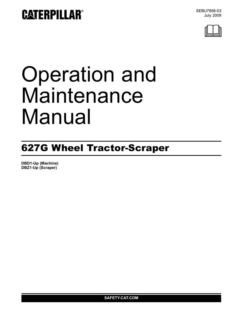 cat 627g specifications manualzz com rh manualzz com caterpillar manual pdf Caterpillar Toys