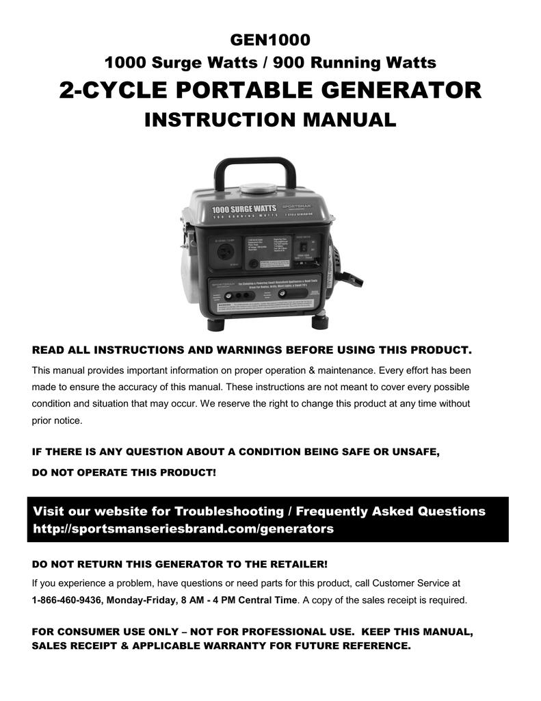 all power 1000w 2 stroke generator instruction manual manualzz com rh manualzz com 2 Stroke Font Generator Chicago 2 Stroke Generator