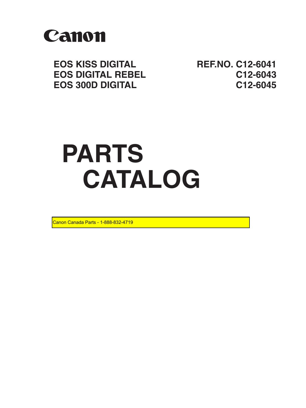 Canon Eos Eos 300d User Manual Manualzz