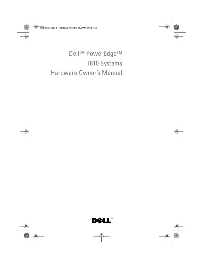 Dell PowerEdge T610 Owner`s manual   manualzz com