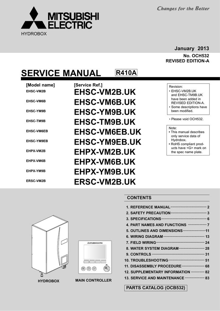 mitsubishi electric ehpx series service manual manualzz com rh manualzz com Mitsubishi Eclipse Manual Mitsubishi TV Manual