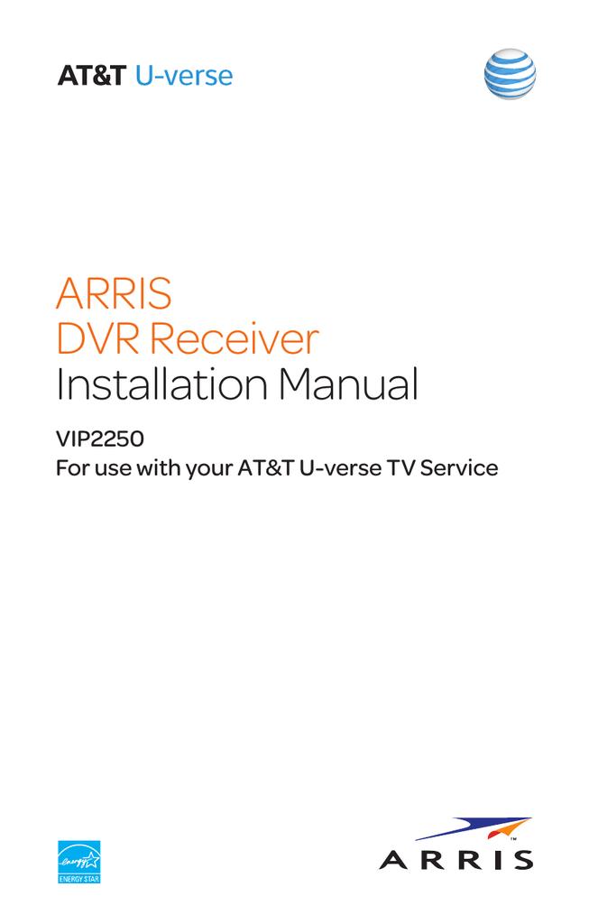 AC Power Adapter For AT/&T U-Verse Motorola Arris VIP2250 DVR HD TV Set-Top Box