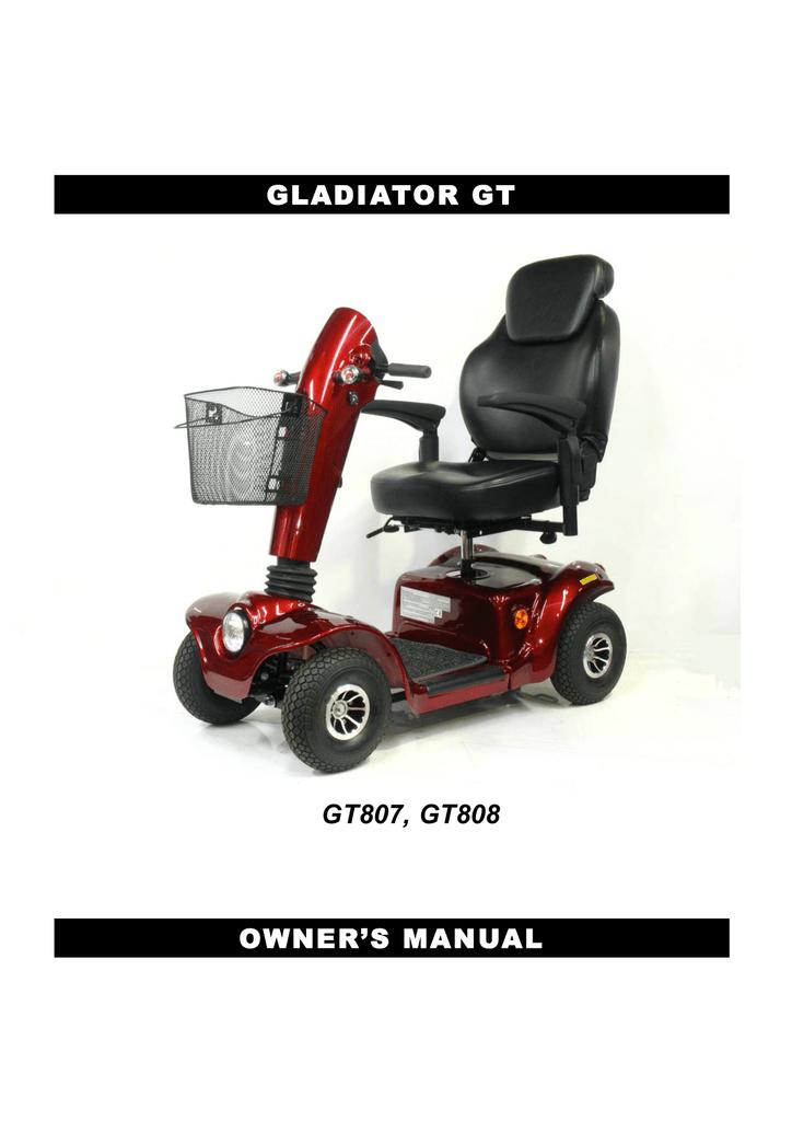 Drive Medical GT808 Owner`s manual | manualzz com