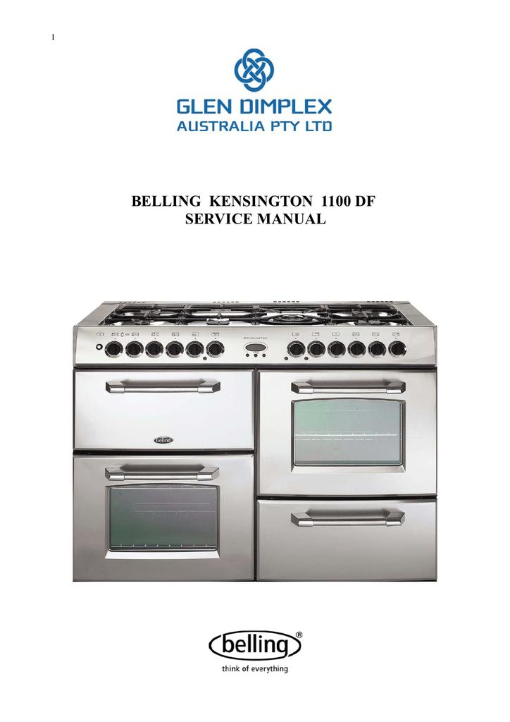 belling kensington 1100 df user manual  manualzz