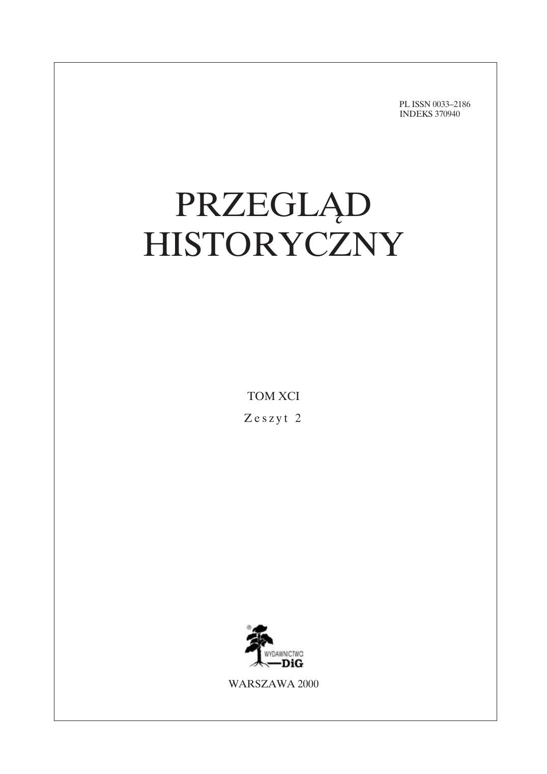 Przegląd Historyczny Tom Xci Z 4 Manualzzcom