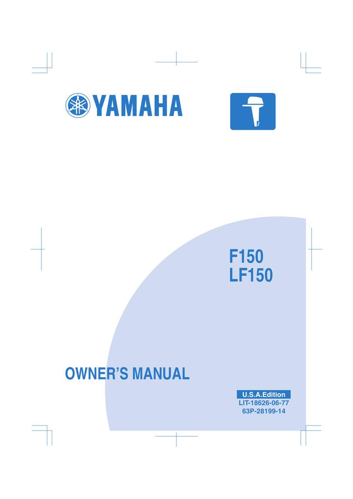 Yamaha 150 Owner`s manual | manualzz.com on