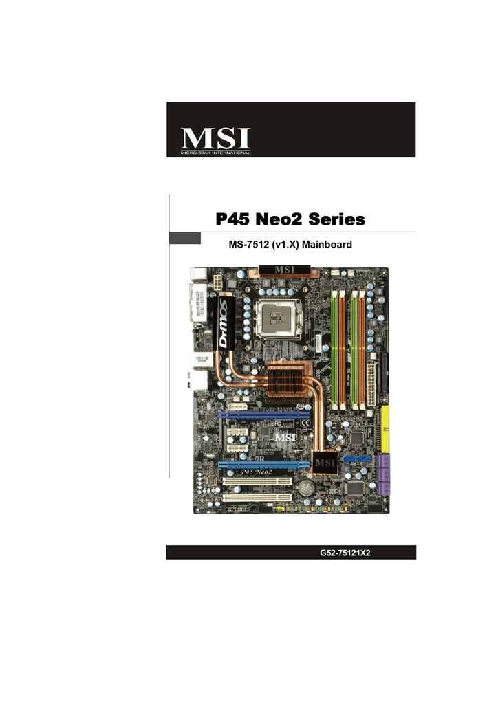 MSI P45 NEO3 V2 AMI DRIVER WINDOWS