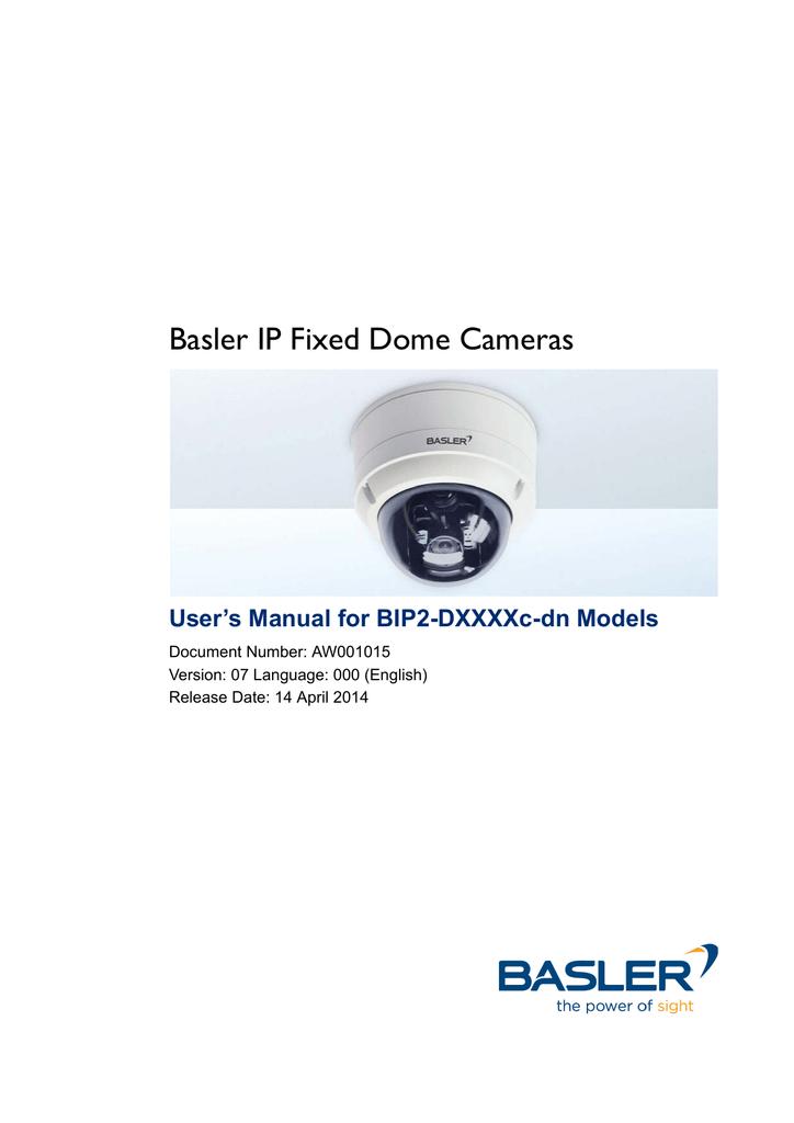 BASLER BIP2-1600C IP CAMERA DRIVERS