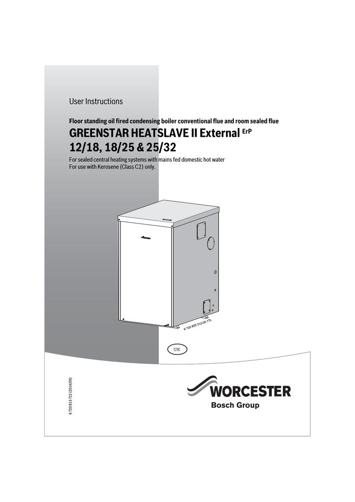worcester greenstar heatslave ii external 25/32 greenstar
