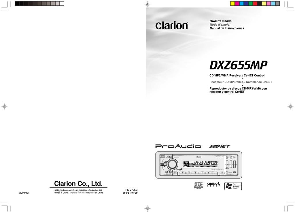 Clarion Dxz655mp Wiring Diagram - Suzuki Sidekick Wiring Harness  imuniman4.au-delice-limousin.frBege Place Wiring Diagram