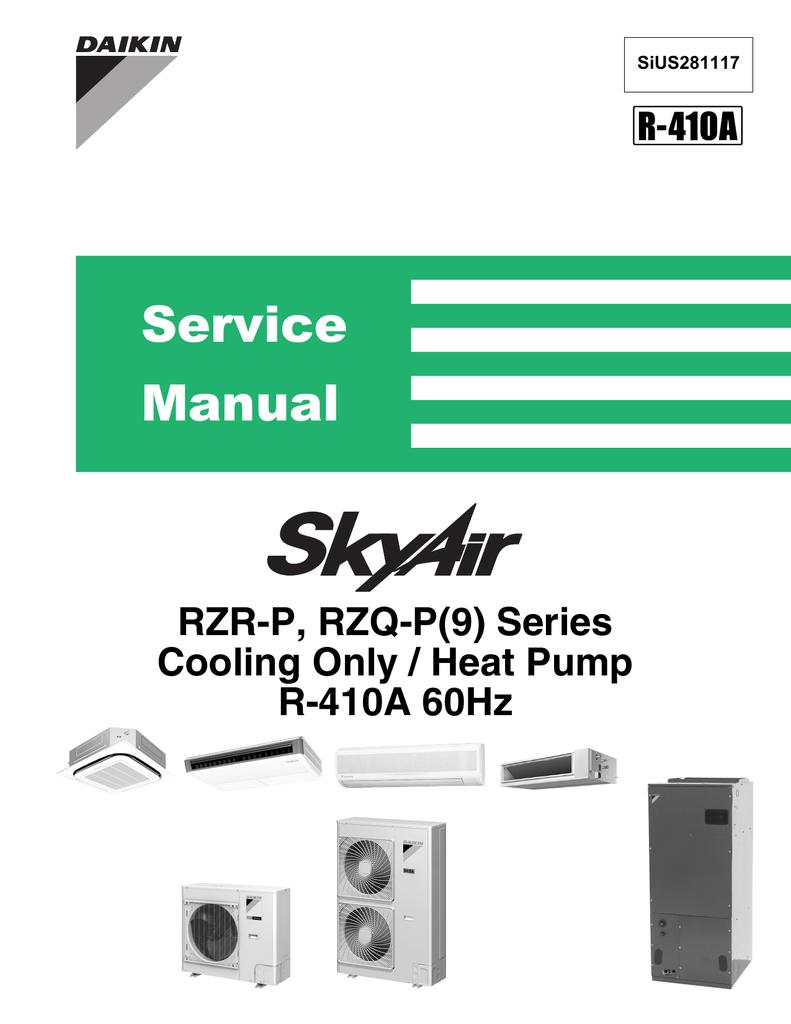 Daikin FCQ18PAVJU Service manual | manualzz com