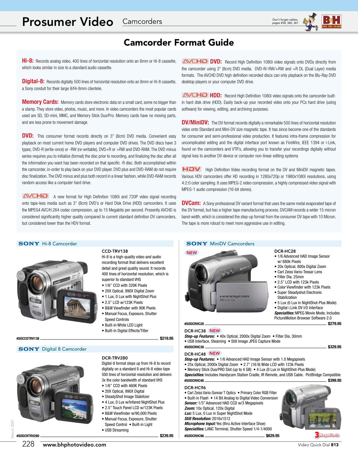Pro Video Stabilizing Handle Grip for Kodak mc3 Vertical Shoe Mount Stabilizer Handle
