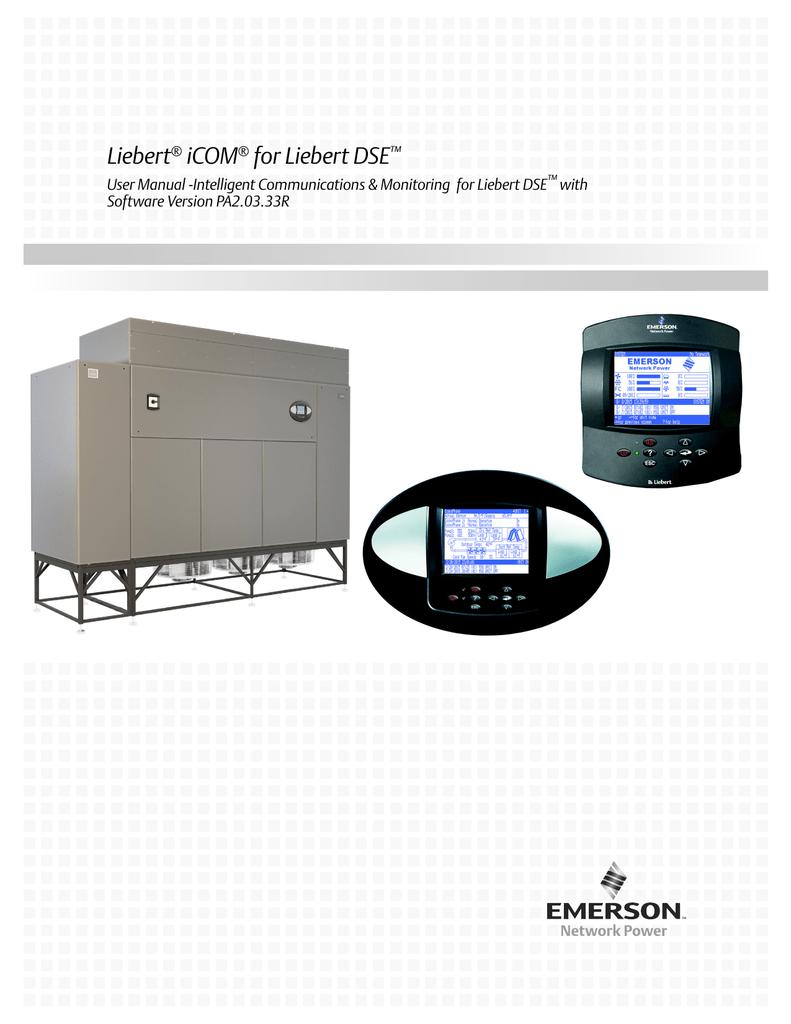Emerson Liebert ICOM-DO User manual | manualzz com