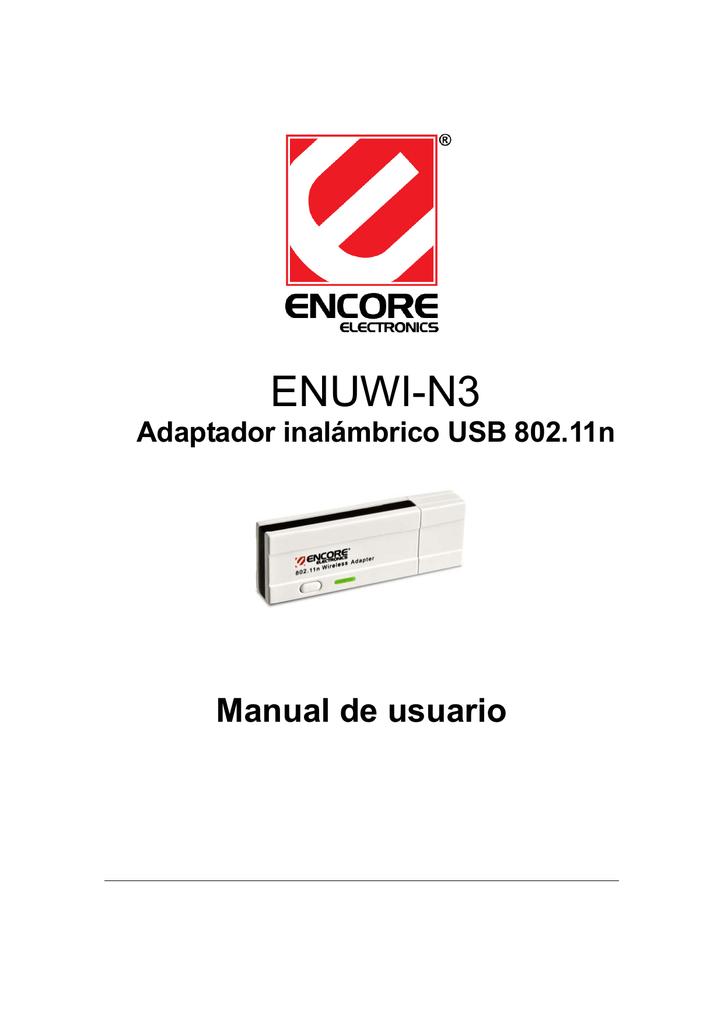 ENCORE ENUWI-N3 WIRELESS USB ADAPTER DRIVER WINDOWS 7 (2019)