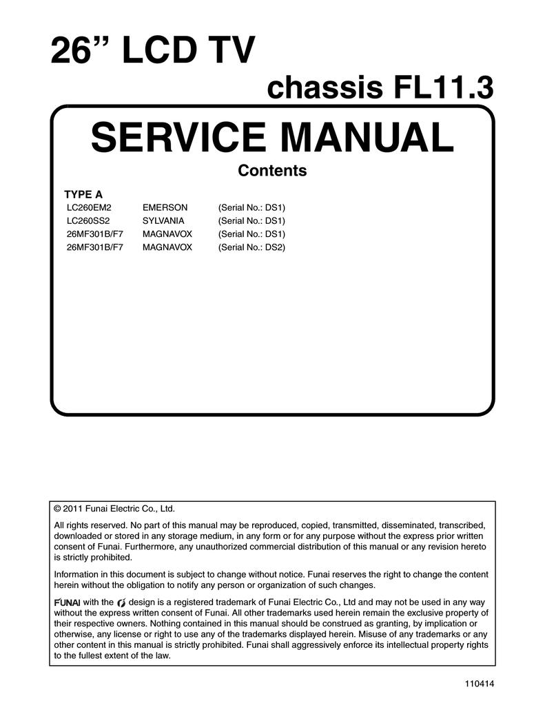 Magnavox Plug Wiring Diagram Library Tube Lifier Schematics Additionally On Diy 26mf301b Service Manual Manualzzcom