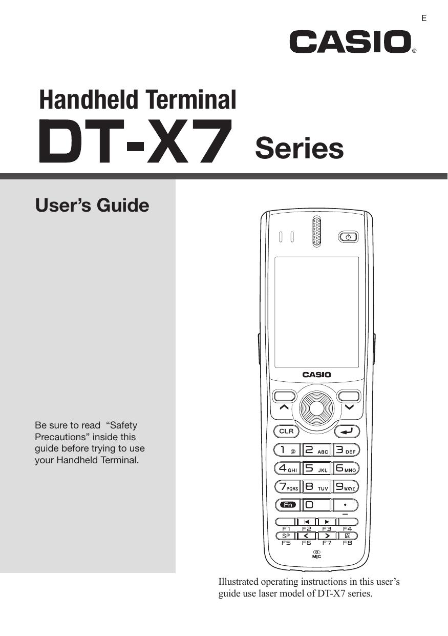 casio dt x7m10r2 manual
