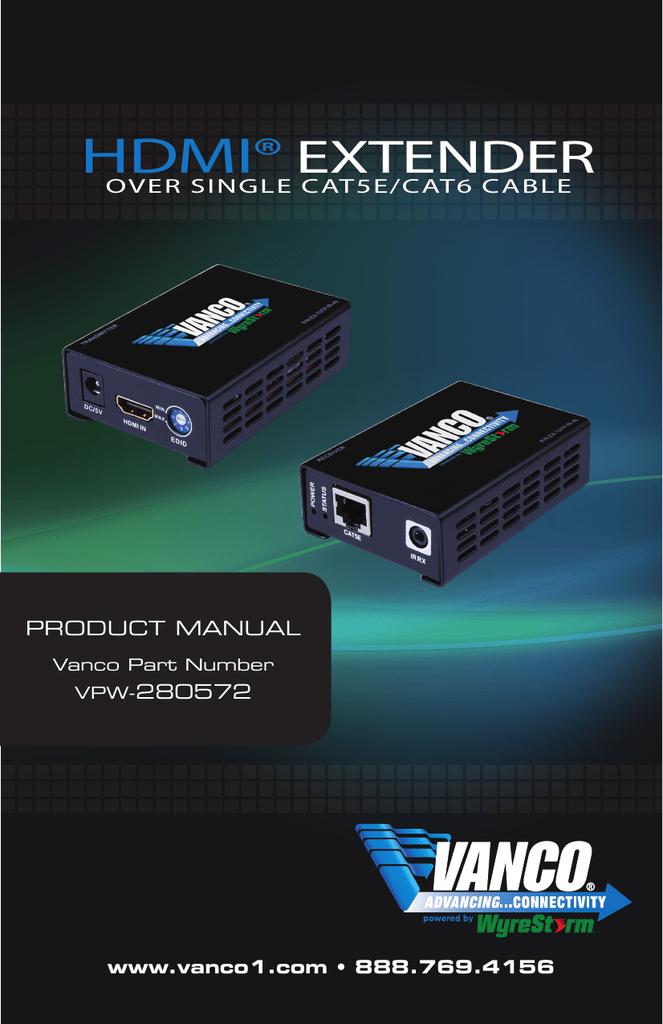 Vanco VPW-280572 Product manual | manualzz com