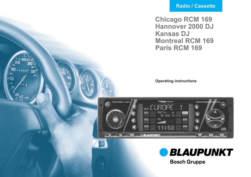 Blaupunkt 2000 DJ Operating instructions | manualzz com