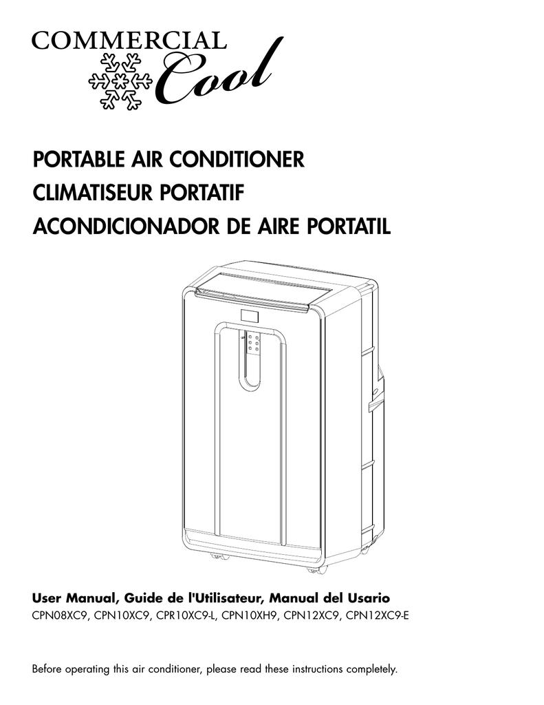 Commercial Cool Cpn10xc9 L User Manual Manualzz Com