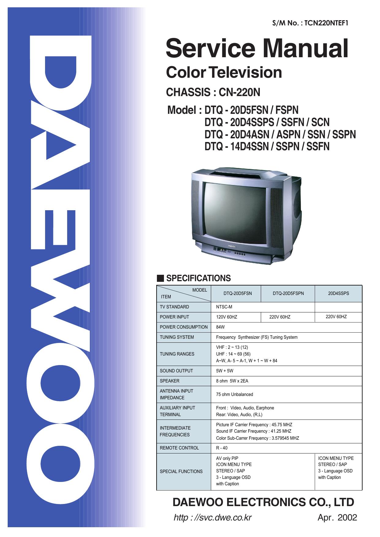 Daewoo Dv T6f4n Pq User Manual Manualzz