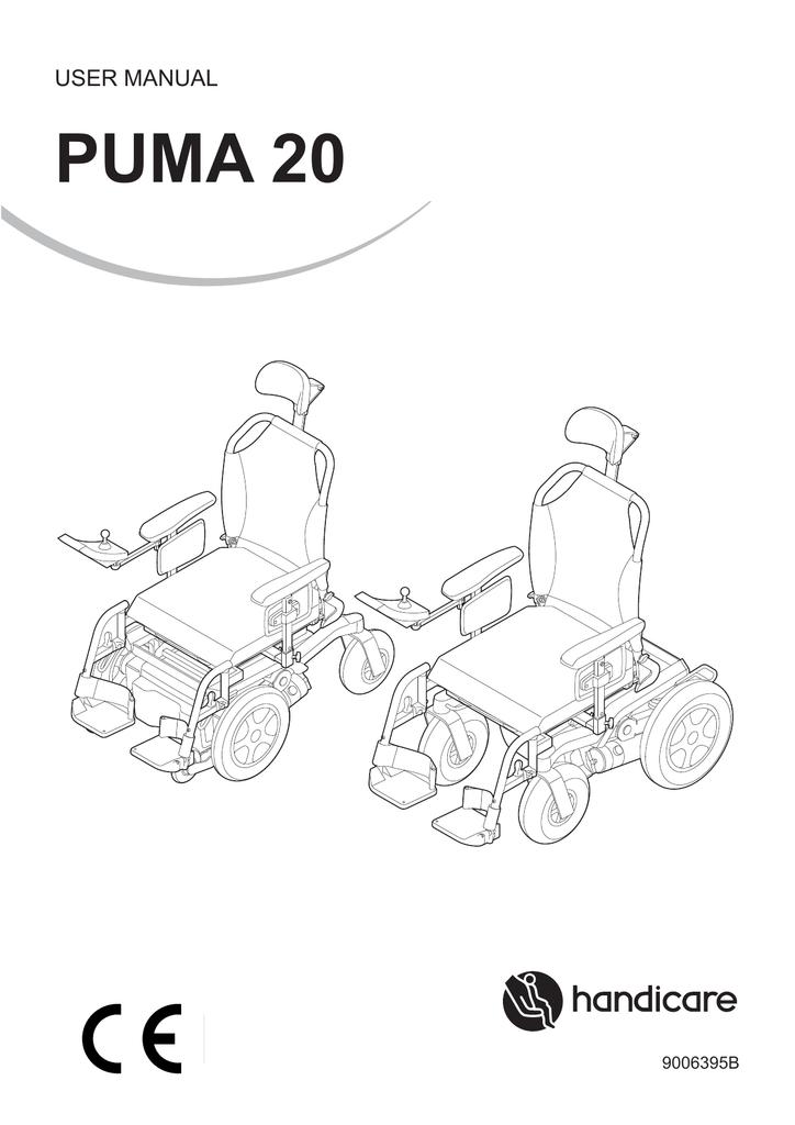 Puma 20 User manual | manualzz.com Handicare Scooter Wiring Diagram on