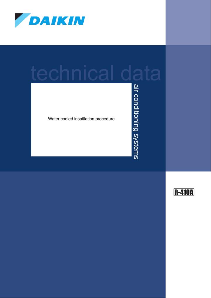 Daikin RWEYQ28PY1 Technical data | manualzz com
